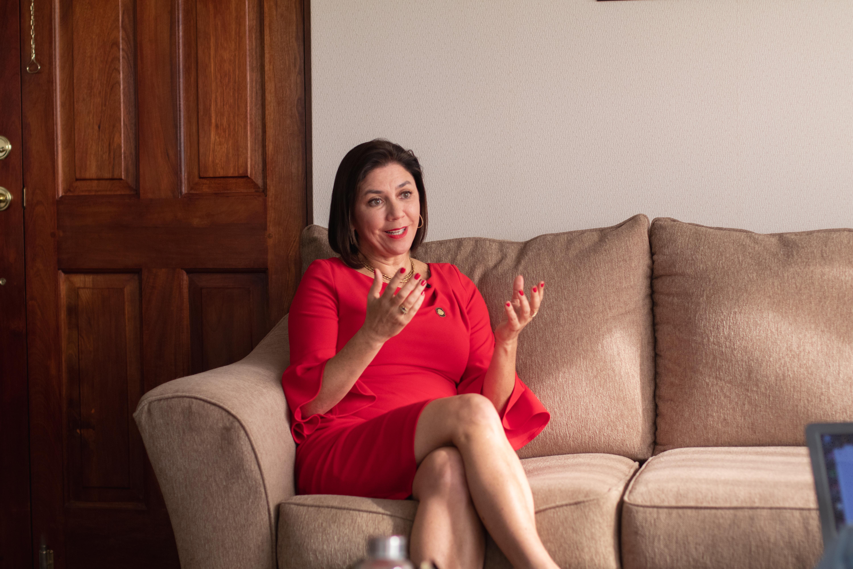 Marcia González Aguiluz es una abogada con énfasis en derecho internacional ambiental | Foto por Cristian Ugalde