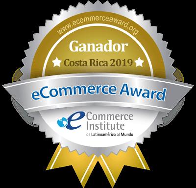 Empresa Ganadora eCommerce Award Costa Rica 2019