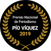 Premio Nacional de Periodismo Pío Víquez 2019