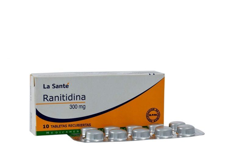 para que sirve la ranitidina tabletas 300 mg